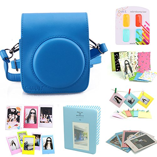 caiul-8-in-1-fuji-instax-mini-70-instant-film-camera-accessories-bundleblue-mini-70-case-mini-album-