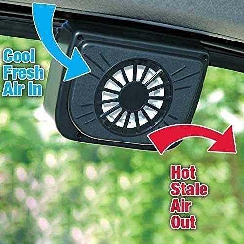 Shuxen£¨TM£ 2016 New Summer car ventilation fan Solar Sun Power Car Window Fan Auto Ventilator Cooler Air Vehicle Radiator (Ventilation Radiator Cooler compare prices)