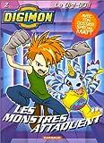 echange, troc Daniel Horn - Digimon, tome 2 : Les monstres attaquent