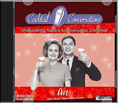 Cocktail Conversations:  Art (Jewel Case)