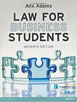 Law for business students alix adams