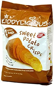 Kiddylicious Fruit Crisps - Sweet Potato - 1.7 oz - 4 pk