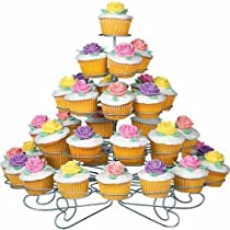 Metal Light-weight Tiered Cupcake and Dessert Stand