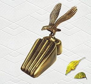 Brass decorative eagle door stopper door Decorative door stoppers