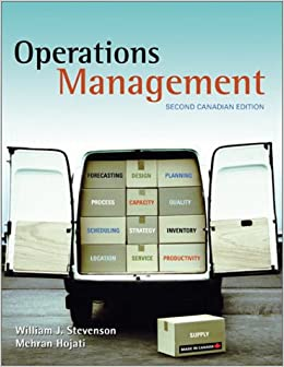 MANAGEMENT OPERATIONS STEVENSON