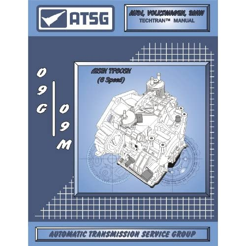 ATSG VW 09G 09M Techtran Transmission Rebuild Manual Audi