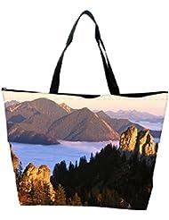 Snoogg Big Rock In Mountain Designer Waterproof Bag Made Of High Strength Nylon