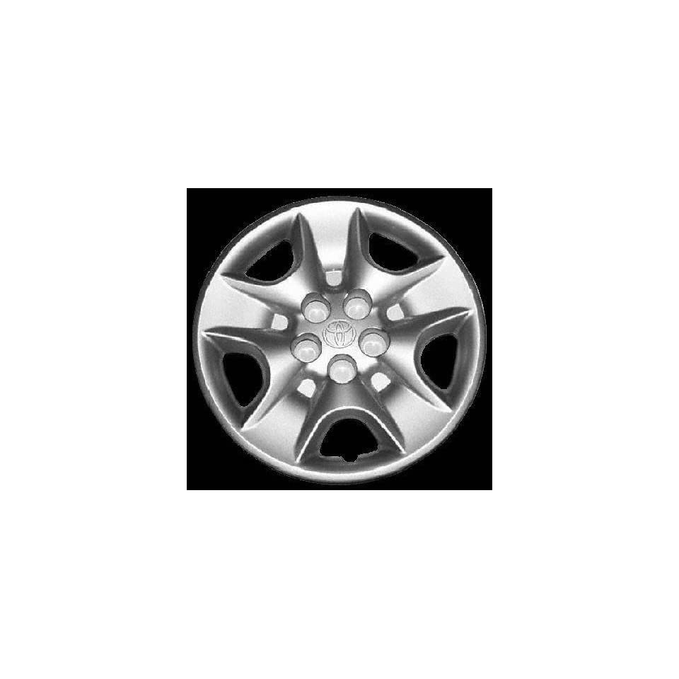 00 03 TOYOTA CELICA WHEEL COVER HUBCAP HUB CAP 15 INCH, 5 SLOT BRIGHT SILVER 15 inch (center not included) (2000 00 2001 01 2002 02 2003 03) T261223 FWC61105U20