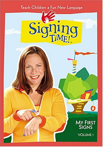 Signing Time! Volume 1: My First Signs VHS [VHS]