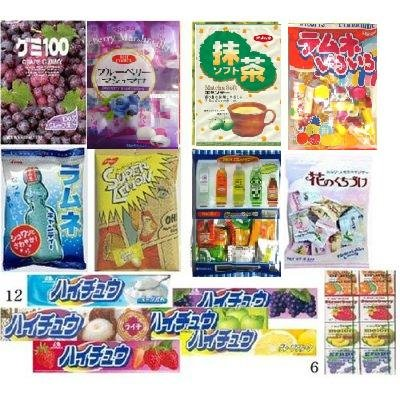 PierMall's Taste of Japan #1 - Japanese Gummy, Mashmallow, Bubblegum, Hi-chew Taffy and Hard Candies Super Value Party Pack (26 Items , 4.26 Lb) + 1 Bonus Tamagotchi Strawberry Chewy Candy!