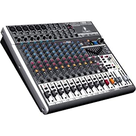 Behringer Xenyx X1832USB Premium 18-Input 3/2-Bus Mixer with XENYX Mic Preamps & Compressors