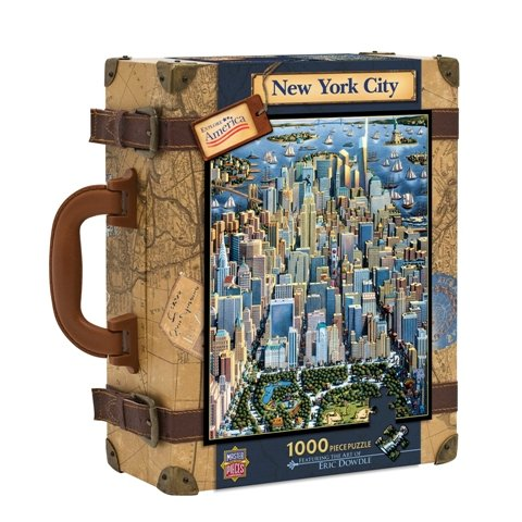 Cheap Masterpiece New York City 1,000-pc. Jigsaw Puzzle (B00114ODC0)