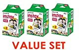 Fujifilm Instax Mini Instant Film, 2 x 10 Shoots x 3Pack (Total 60 Shoots) Value Set (With our shop original product description)