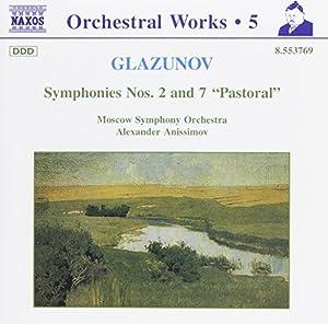 Glazunov: Symphonies 2 & 7