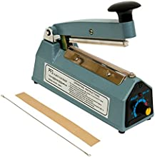 4quot Heat Sealing Machine Impulse Sealer Seal Machine Poly Tubing Plastic Bag Kit