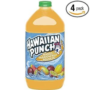Hawaiian Punch Mango Passionfruit, 128-Ounce Bottles (Pack