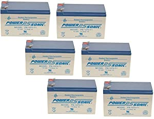 12V 7.2Ah SLA Battery for Security Systems/ APC Systems - 6 Pack