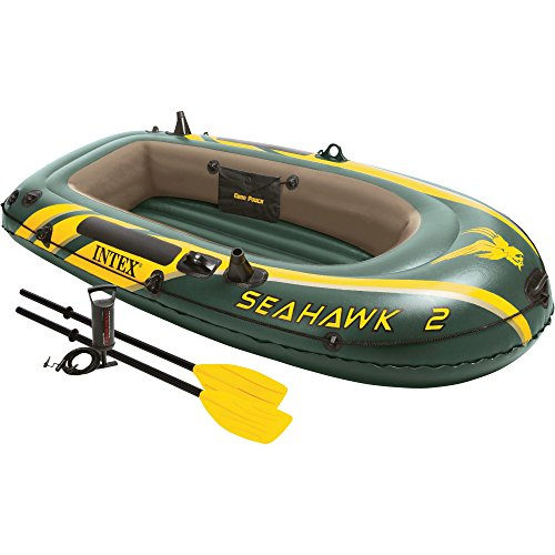 Intex Seahawk Inflatable Boat Set - 2 Person (Intex Seahawk Ii Boat Set compare prices)