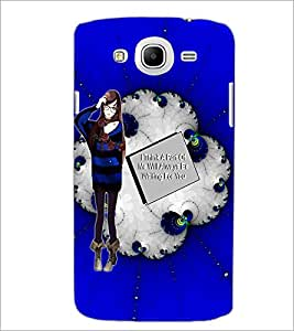PrintDhaba Girl with Love Quote D-1041 Back Case Cover for SAMSUNG GALAXY MEGA 5.8 (Multi-Coloured)