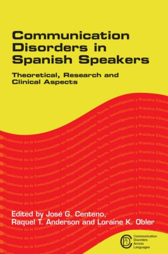 Communication Disorders In Spanish Speak (Communication Disorders Across Languages)