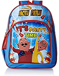 Motu Patlu Blue And Red Children's Backpack (MBE - VIA013)