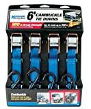 Highland 92106 6' Cambuckle Tie Down - Pack of 4