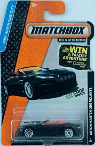 Matchbox Collectible Diecast Car: MBX Adventure City Series - ASTON MARTIN VOLANTE 4/120 2013 - 1