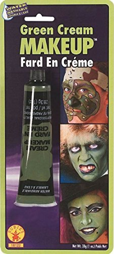 [Rubie's Green Cream Makeup, 0.7 Ounce, Model: 18122] (Frankenstein Costume Party City)