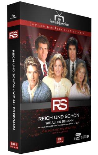 Reich und Schön: Wie alles begann - Box 4, Folgen 76-100 (inkl. Soundtrack) (Fernsehjuwelen) [5 DVDs]
