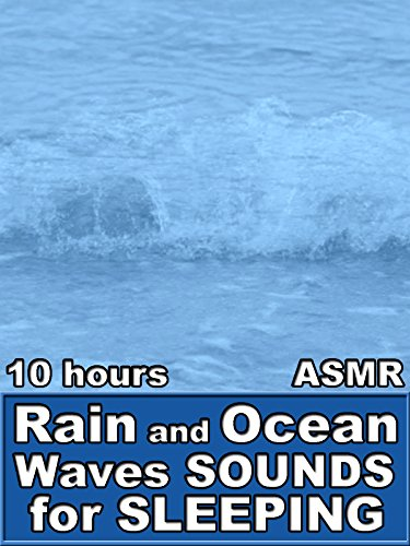 Rain and Ocean Waves Sounds for Sleeping 10 Hours ASMR