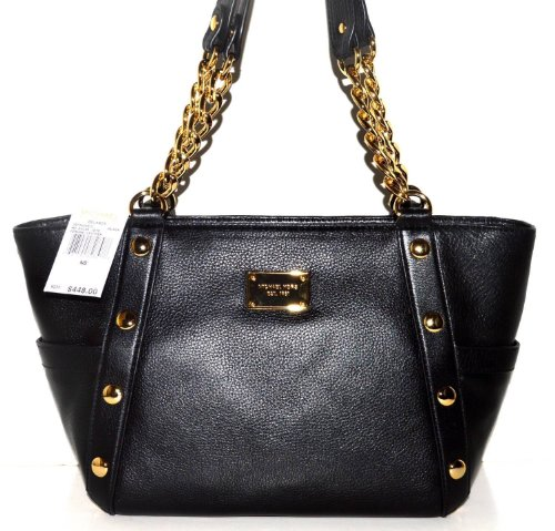 a524c3f8134b This Michael Kors Delancy Black Leather MD Shoulder Tote Bag 38F3YDEE2L  have to give you. CLICK HERE TO CHECK PRICE & REVIEWS