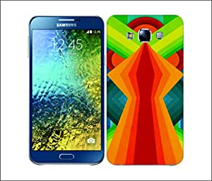 Galaxy Printed 2108 Geometric Patterns Chasm Hard Cover for Samsung GRAND 2