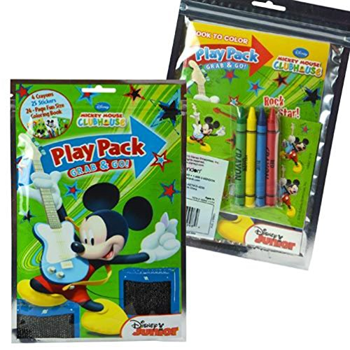 Disney Mickey Mouse Play Pack Activity Set - 1