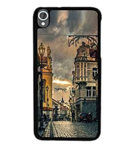 Vizagbeats Raining Streets Back Case Cover for HTC DESIRE 820