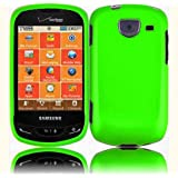 Neon Green Hard Case Cover for Samsung Brightside U380 ~ HR