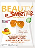 Beauty Sweeties Jelly Hearts, Mango and Peach Fruit, 4.4 Ounce