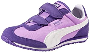 PUMA Whirlwind V Sneaker (Toddler/Little Kid),Prism Violet/White/Lavendula,3 M US Little Kid