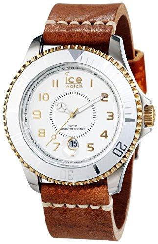 Ice Watch Ice Heritage-Orologio da uomo al quarzo, con quadrante marrone HE.LBN.SG.B.L.14 e cinturino in pelle, colore: marrone