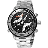 TX Men's T3C407 550 Series World Time Sport Stainless Steel Watch
