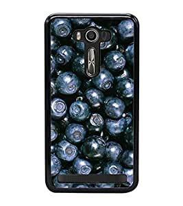Blue Berries 2D Hard Polycarbonate Designer Back Case Cover for Asus Zenfone 2 Laser ZE500KL (5 INCHES)