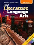 Essentials of American Literature (Fifth Course) (Holt Literature & Language Arts) (0030573734) by Kylene Beers