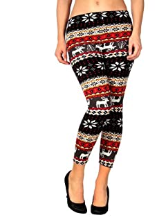New Fashion Women's Soft Knitted Warm Multi-patterns Tights Pants Leggings