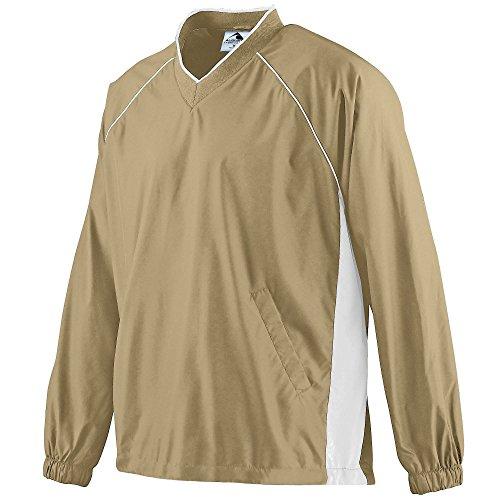 Boys' Micro Poly Pullover Jacket Augusta Sportswear S Vegas Gold/White