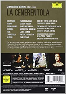 Rossini - La Cenerentola / Frederica von Stade, Francisco Araiza, Paolo Montarsolo, Claudio Desderi, Laura Zannini, Claudio Abbado