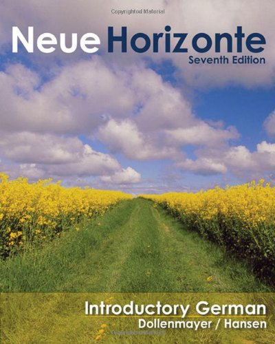 Neue Horizonte: Introductory German (Available Titles...