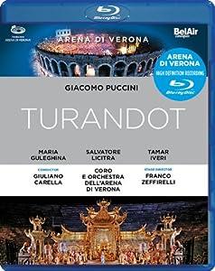 Puccini Turandot Maria Guleghina Carlo Bosi Salvatore Licitraveronacarella Blu-ray 2011 by Bel Air Classiques