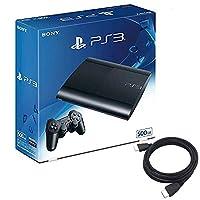 PlayStation3 チャコール・ブラック 500GB (CECH4300C) 【【Amazon.co.jp限定】特典】アンサー PS3用 HDMIケーブル2.0M付