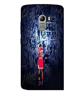 PrintDhaba Sports D-5539 Back Case Cover for LENOVO VIBE K4 NOTE (Multi-Coloured)