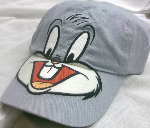Looney Tunes Bugs Bunny Big Face Youth Size Cap Hat, Great for Halloween