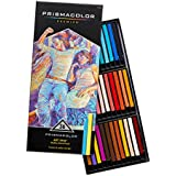Prismacolor Art Stix Colored Rectangular Pencils,  Set of 36 Assorted Colors  (2164)